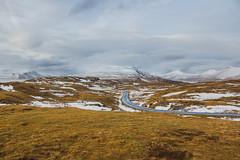 Road to nowhere (Jason Lemiere) Tags: æðuvík faroeislands road mountains winter snow dramaticsky moodysky clouds landscape hugh mountainrange hill scenery mountain nonurbanscene snowcapped idyllic ruralscene scenic rockmountain scenics