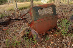 Forgotten (Darren Schiller) Tags: abandoned australia automobile car derelict disused decaying dilapidated glendavis wreck rustic rusty steel vehicle newsouthwales