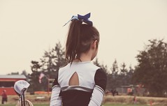 Mady Cheering in Molalla (pete4ducks) Tags: on1pics molalla mady cropped madelyn oregon football cheerleading 2017 raw child flag americana usa unitedstatesofamerica americanflag trees dof depthoffield sonyalpha mirrorless matte 500views