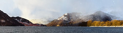 Looming Snow (Benjamin Driver) Tags: ullswater lakeullswater lakedistrict lake district clouds cloud snow hills hill snowcappedhills snowcapped capped mountains mountain orange light winter 2018 february weather water panorama panoramic panoramiclandscape landscape landscapes land scape waterscape quiet uk unitedkingdom north england horizon colour contrast vibrant naturallight sun sunrise rise morning morninglight