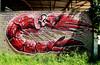 graffiti in Doel (wojofoto) Tags: graffiti streetart doel belgie belgium dorp wojofoto wolfgangjosten hnrx