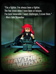 May the 4th (LegoKlyph) Tags: lego custom mini figure brick block star wars jedi sith hand force dark smuggler blaster saber redhead skywalker scifi space classic
