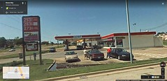 Back when it was still operational (Retail Retell) Tags: former gas mart citgo station fuel convenience store restaurant baskin robbins ice cream shop chester fried jack pirtles chicken hernando ms desoto county retail commerce street i55 demolished torn down