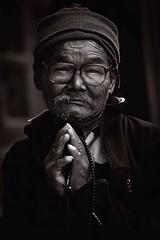 Nepal (Enricodot) Tags: enricodot portrait portraits people persone nepal nepali travel traveler bn bw blackandwhite bianconero monocrome