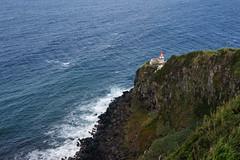 Lighthouse in Nordeste (Julysha) Tags: azores island travel 2014 portugal d810 sãomiguel nikkor247028 acr lighthouse rocks atlantica ocean autumn september