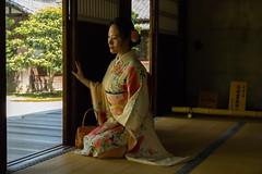 Kyoto-18 (rwscholte) Tags: rwscholte zen temple japan kyoto portrait people pentax pentaxian k1 naturallight beauty kimono