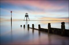 Dovercourt Lighthouse (jeanny mueller) Tags: unitedkingdom england dovercourt lighthouse sea seascape sunset landscape harwich essex felixstowe gb