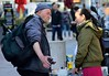 Exchanging life experiences (Janardan das) Tags: streetculture thelanes sussex eastsussex england uk dof streetlife brighton streetphotography streetphoto unlimitedphotos communication exchanging homeless tamron nikond3300 flickr photography photo nikon people culture society life lifestyle