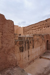 Ruins at El Badii Palace, Marrakech, Morroco (mattk1979) Tags: marrakech morroco arab northafrica sun outdoors sky clouds city buildings old historic elbadii palace kasbah
