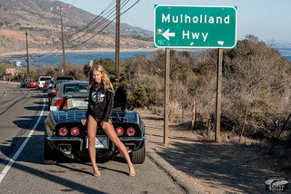 Black Surfboard & 69 Stingray Corvette Convertible! Blonde Swimsuit Bikini Model Goddess! 45EPIC 45SURF Mulholland Highway PCH Classic Vintage Corvette &Surf Goddess! Athletic Portraits of Pro Models! High Res Venus! Sexy Hot dx4/dt=ic! Nikon D800!