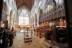 Ripon Cathedral Chancel (Mike.Dales) Tags: riponcathedral chancel church northyorkshire england gothic