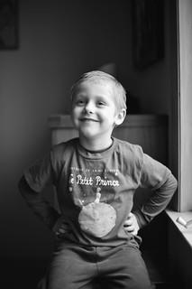 expressive kid