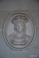 Замок Шенонсо Барельєфи InterNetri  France 068