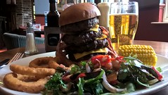Apocalypse Cow Challenge Burger (bascat) Tags: bascat bas cardiff heron marsh stmellons flaming grill