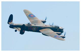 BBMF Lancaster at Old Warden