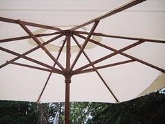 Underneath a table umbrella (Matthew Paul Argall) Tags: kodakpocketinstamatic10 110 110film fixedfocus focusfree subminiaturefilm lomographyfilm grainyfilm 200speedfilm 200isofilm umbrella tableumbrella