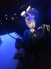 the schoolmaster (n.a.) Tags: va victoria albert museum pink floyd exhibition inflatable wall school master schoolmaster puppet scottish glasses man