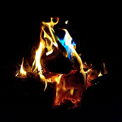 dancing on embers (n.a.) Tags: fire sprite flames bonfire benfire ben pit