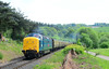 55019 at Trimpley. (curly42) Tags: 55019 class55 deltic napier royalhighlandfusilier railway transport svr locohauled svrdieselgala2018 severnvalleyrailway
