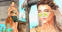 ♚ 564 ♚ (Luxury Dolls) Tags: summer style fashion imbue n21 moon moonhair event versov treschic green zenith bag gacha kustom9 wrong bento gift free pose outfit