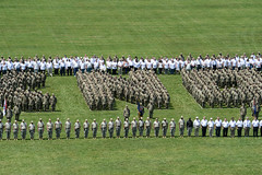 FORT KNOX Centennial Photo Op (Fort Knox, KY) Tags: fort knox fortknox army human formation military centennial fortknoxphoto kentucky usarmy historic history