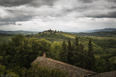 Greve in Chianti - Italy (Dennis van Dijk) Tags: greve chianti castello verrazzano view mountain italy tuscan tuscany wine county country green valley