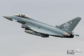 31+32 German Air Force (Luftwaffe) Eurofighter Typhoon