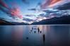 Broken (Nikhil Ramnarine) Tags: newzealand southisland queenstown lakewakatipu wakatipu brokenjetty broken longexposure sunset nikon d500 clouds lake mountains