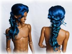 wig for sale (SophyMolly) Tags: bjd balljoineddoll braid boho doll wig sale sophymolly dollshe pukifee portrait angora abjd adoption retro braids