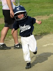 IMG_6556 (kennethkonica) Tags: littleleague sports hats people persons canonpowershot canon indianapolis indiana indy usa midwest america hoosiers boysofsummer games uniforms random faces kids child mood family fun action yankees outdoor movement running