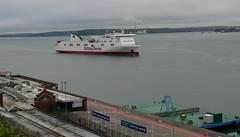 18 05 07 BF Connemara  1st arrival  (10) (pghcork) Tags: corkharbour cork ferry carferry connemara brittanyferries ireland 2018