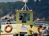 LeaningToStarboard (Hodd1350) Tags: poole dorset sandbanks lifesavers people pleasureboat bridge takingashot trees yellow sony sonyfe70300 a7rlll sign