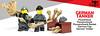 New German Tanker Accessories! (BrickWarriors - Ryan) Tags: brickwarriors lego legogun customlegominifigure panzer rocket wwii ww2 weapons new release