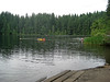 Childhood Memories (PDX Bailey) Tags: park state washington battleground lake summer swim swimming boat raft tree green water people man grass reed childhood