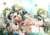 🌺 Tнe Fαιry Gαrdeɴ... 🌺 (AyE ღ I'м α vιѕιoɴΛЯT) Tags: digitalart digitalpainting digitalportrait digitalfantasy painting artworks portraits beauty illustrations artportrait ritratto retrato portrature dreamy vision magical emotionalart emotional lode clovercollectionlode ♥♥