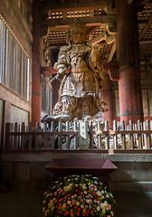 Kōmoku-ten de Tōdai-ji (Tom Neumann) Tags: budismo templo santuario a6000 samyang 12mm sony sombra iluminacion nara japon komokuten religion arte art japan lighting shadows shrine temple arquitecture sculpture buddhism travel