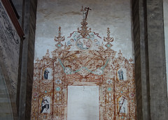 Entry mural, San Agustín de Acolman