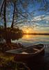 lake Pitkäjärvi (Antti Tassberg) Tags: landscape pitkäjärvi auringonlasku laaksolahti serene reflection kevät vene espoo järvi suomi aurinko boat finland lake scandinavia spring sun sundown sunset