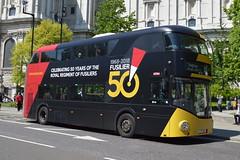LT 394 (LTZ 1394) Go-Ahead London (hotspur_star) Tags: londontransport londonbuses londonbus londonbuses2018 wrightbus newbusforlondon newroutemaster nb4l tfl transportforlondon hybridbus hybridtechnology busscene2018 doubledeck lt394 ltz1394 alloveradvert advertlivery advertisinglivery advertbus royalregimentoffusiliers thefusiliersorg fusilier50 15 borisbus borismaster goaheadlondon