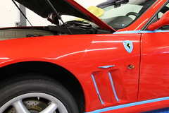 Ferrari_550_Maranello_swissvax_23 (Detailing Studio) Tags: detailing studio lyon swissvax ferrari 575 maranello rénovation peinture rosso corsa traitement lavage décontamination polissage lustrage protection cire carnauba concorso autobahn cuir micro rayures