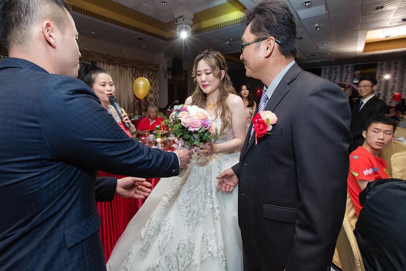 [婚攝] 敏智 & 采歆 沙鹿竹林婚宴會館 | 文定晚宴送客合照| 婚禮紀錄