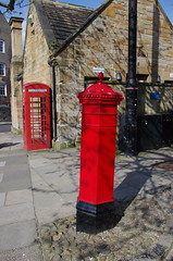 IMGP9280 (Steve Guess) Tags: durham cathedral university england gb uk unesco world heritage site k5 phone box telephone kiosk letter pillar post