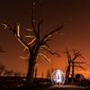 Jugando entre los árboles (Yorch Seif) Tags: nocturna nocturnal largaexposicion longexposure lightpainting d7500 tokina1116 ledlenser minimaglite cielo edificio