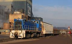 Working the BOP (GLC 392) Tags: uss united states steel urr union railroad railway train emd sw1500 9 braddock pa pennsylvania bop shop 2 crew church mon valley