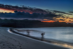 Sunset on the beach (Free Derry) Tags: ireland dingle beach night