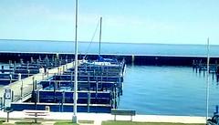 First sailboat of the season! 365/189 (Maenette1) Tags: sailboat water greatlakesmemorialmarina menominee uppermichigan flicker365 allthingsmichigan project365 projectmichigan absolutemichigan