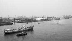 Busy Elbe (HansPermana) Tags: