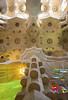 Unfinished Business [XXV] (Olivier So) Tags: spain españa catalonia catalunya barcelona sagradafamilia church gaudi artnouveau modernista ceiling