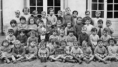 Class photo (theirhistory) Tags: children kids boy girl school class group form jumper shirt shoes wellies boots