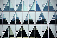 The Boredom of Modern Architecture (YIP2) Tags: pillar triangle angles window windows abstract minimal minimalism simple less line linea detail facade pattern diagonal geometry design architecture building repetition